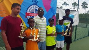 Grand Bahama Jr Tennis Tournament  2  2015